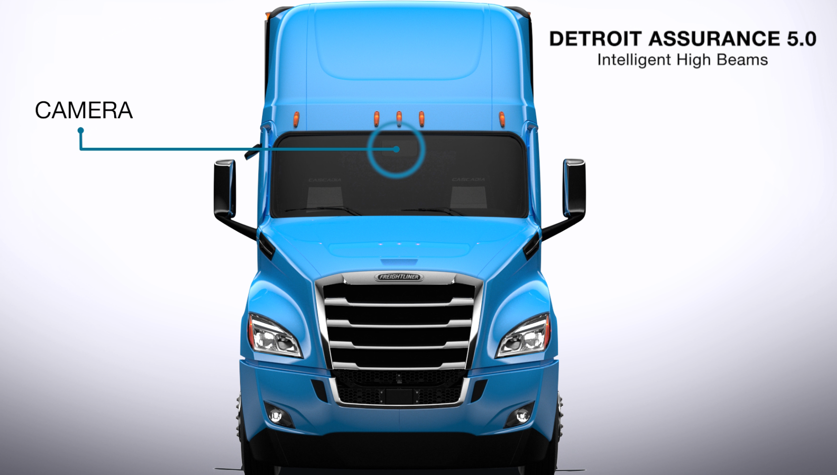 Detroit Assurance 5.0 Intelligent High Beams