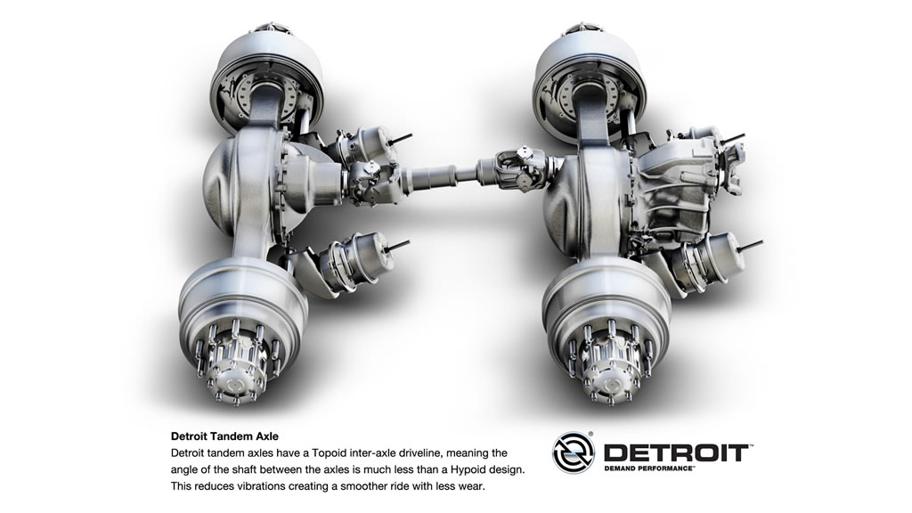Detroit Tandem Rear Axles Demand Detroit
